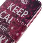Emotive peněženkové pouzdro na mobil Huawei Y6 Pro - Keep Calm - 4/7
