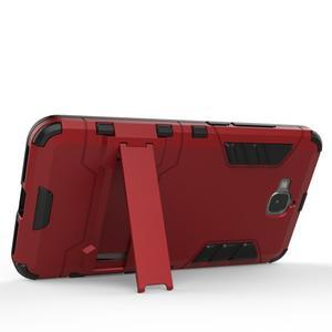 Outdoor odolný obal na mobil Huawei Y6 Pro - červený - 4