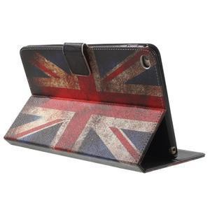 Stylové pouzdro na iPad mini 4 - UK vlajka - 4