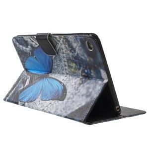 Stylové pouzdro na iPad mini 4 - modrý motýl - 4