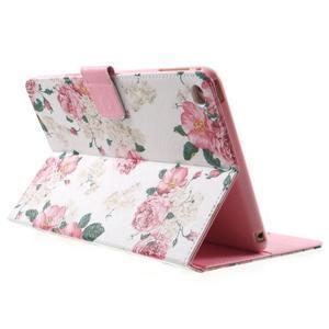 Stylové pouzdro na iPad mini 4 - květiny - 4