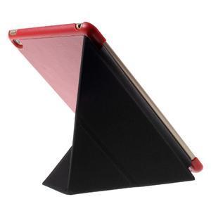 Origami polhovatelné pouzdro na iPad mini 4 - červené - 4