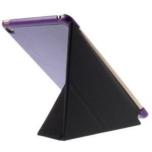 Origami polhovatelné pouzdro na iPad mini 4 - fialové - 4