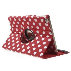 Cyrc otočné pouzdro na iPad mini 4 - červené - 4