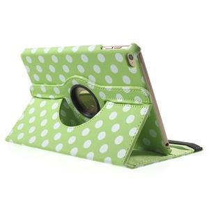 Cyrc otočné pouzdro na iPad mini 4 - zelené - 4