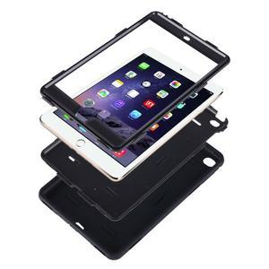 Vysoce odolný silikonový obal na tablet iPad mini 4 - modrý/rose - 4