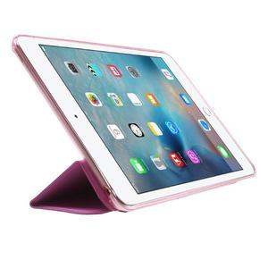 Trifold trojpolohové pouzdro na tablet iPad mini 4 - rose - 4