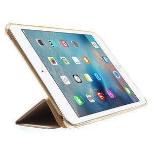 Trifold trojpolohové pouzdro na tablet iPad mini 4 - zlaté - 4