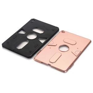 Outdoor dvoudílný gelový/plastový obal na iPad mini 4 - růžovozlatý - 4