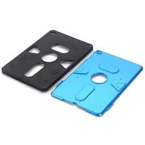 Outdoor dvoudílný gelový/plastový obal na iPad mini 4 - modrý - 4