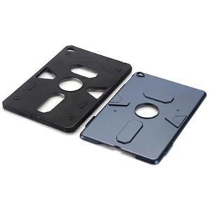 Outdoor dvoudílný gelový/plastový obal na iPad mini 4 - modrošedý - 4