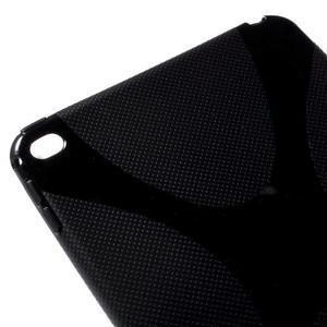 X-line gelový obal na tablet iPad mini 4 - černý - 4