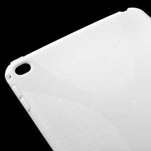 X-line gelový obal na tablet iPad mini 4 - bílý - 4