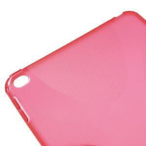 X-line gelový obal na tablet iPad mini 4 - červený - 4