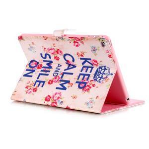 Knížkové pouzdro na tablet iPad mini 4 - Keep Calm - 4