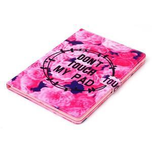 Knížkové pouzdro na tablet iPad mini 4 - nedotýkat se - 4