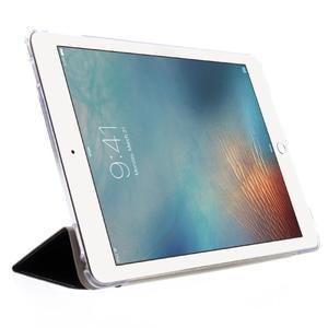 Trifold polohovatelné pouzdro na tablet iPad Pro 9.7 - černé - 4