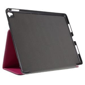 Clothy PU textilní pouzdro na iPad Pro 9.7 - rose - 4