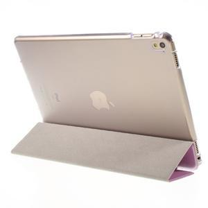 Trifold polohovatelné pouzdro na tablet iPad Pro 9.7 - růžové - 4