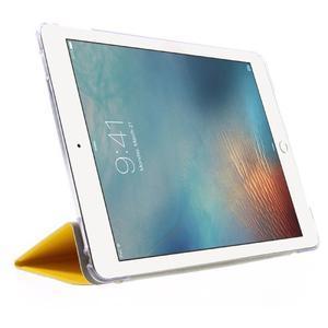 Trifold polohovatelné pouzdro na tablet iPad Pro 9.7 - žluté - 4