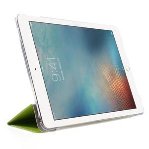 Trifold polohovatelné pouzdro na tablet iPad Pro 9.7 - zelené - 4