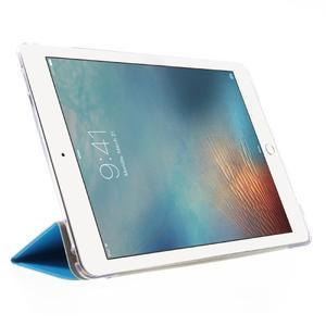 Trifold polohovatelné pouzdro na tablet iPad Pro 9.7 - modré - 4