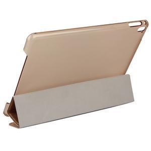 Extra origami polohovatelné pouzdro na iPad Pro 9.7 - zlaté - 4