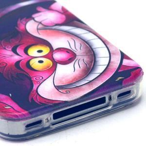 Emotive gelový obal na mobil iPhone 4 - kocour - 4