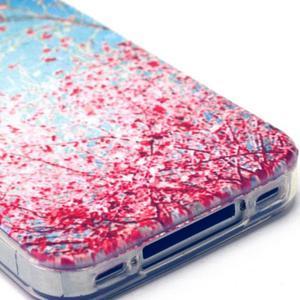 Emotive gelový obal na mobil iPhone 4 - kvetoucí větvičky - 4