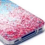 Emotive gelový obal na mobil iPhone 4 - kvetoucí větvičky - 4/4