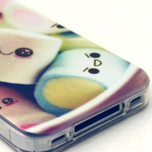 Emotive gelový obal na mobil iPhone 4 - kokina - 4
