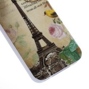 Gelový obal na iPhone 4 - Eiffelova věž - 4