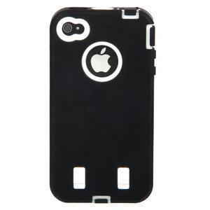 Armor vysoce odolný obal na iPhone 4 - černý - 4