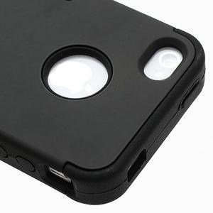 Extreme odolný kryt 3v1 na mobil iPhone 4 - černý - 4