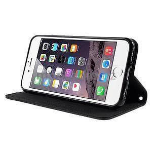 Klopové pouzdro na iPhone 6 a iPhone 6s - černé - 4