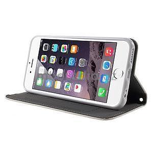 Klopové pouzdro na iPhone 6 a iPhone 6s - bílé - 4