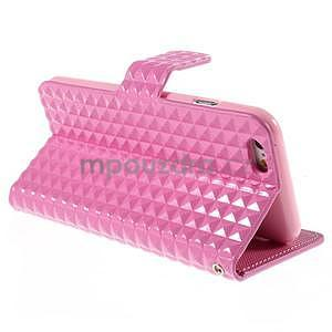 Cool style pouzdro na iPhone 6s a iPhone 6 - růžové - 4