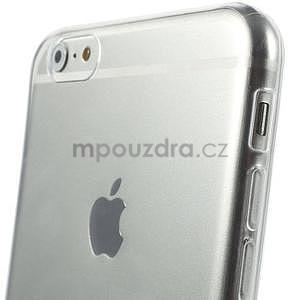 Ultra slim lesklý gelový obal na iPhone 6 Plus a 6s Plus - transparentní - 4