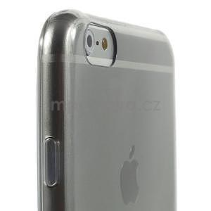 Ultra slim lesklý gelový obal na iPhone 6 Plus a 6s Plus - šedý - 4