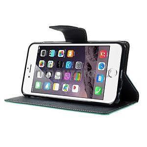 Peněženkové pouzdro pro iPhone 6 Plus a 6s Plus - azurové - 4