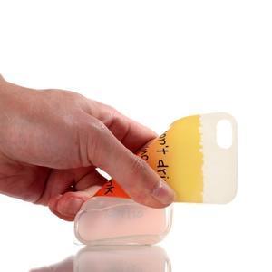 Gelový obal na mobil iPhone SE / 5s / 5 - drink - 4