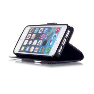 Peněženkové pouzdro na mobil iPhone SE / 5s / 5 - kačer - 4