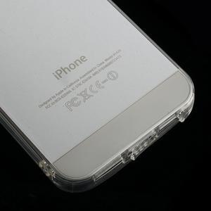 Gelový transparentní obal na iPhone SE / 5s / 5 - 4