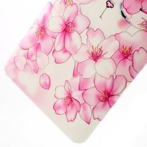 Softy gelový obal na mobil Lenovo A7000 / K3 Note - květy švestky - 4