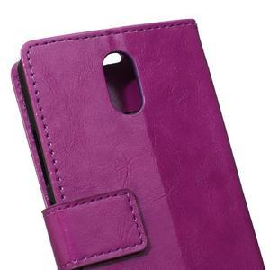 GX koženkové peněženkové na mobil Lenovo Vibe P1m - fialové - 4