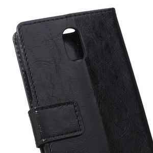 GX koženkové peněženkové na mobil Lenovo Vibe P1m - černé - 4