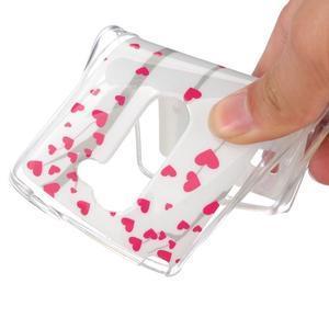 Jelly gelový obal na mobil LG Leon - láska - 4