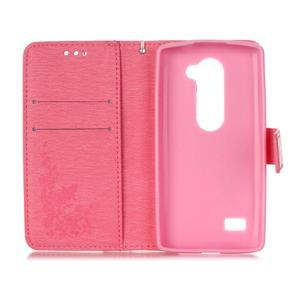 Magicfly pouzdro na mobil LG Leon - růžové - 4