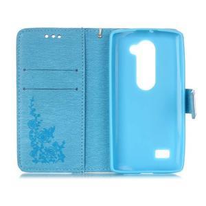 Magicfly pouzdro na mobil LG Leon - modré - 4