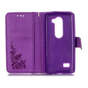 Magicfly pouzdro na mobil LG Leon - fialové - 4
